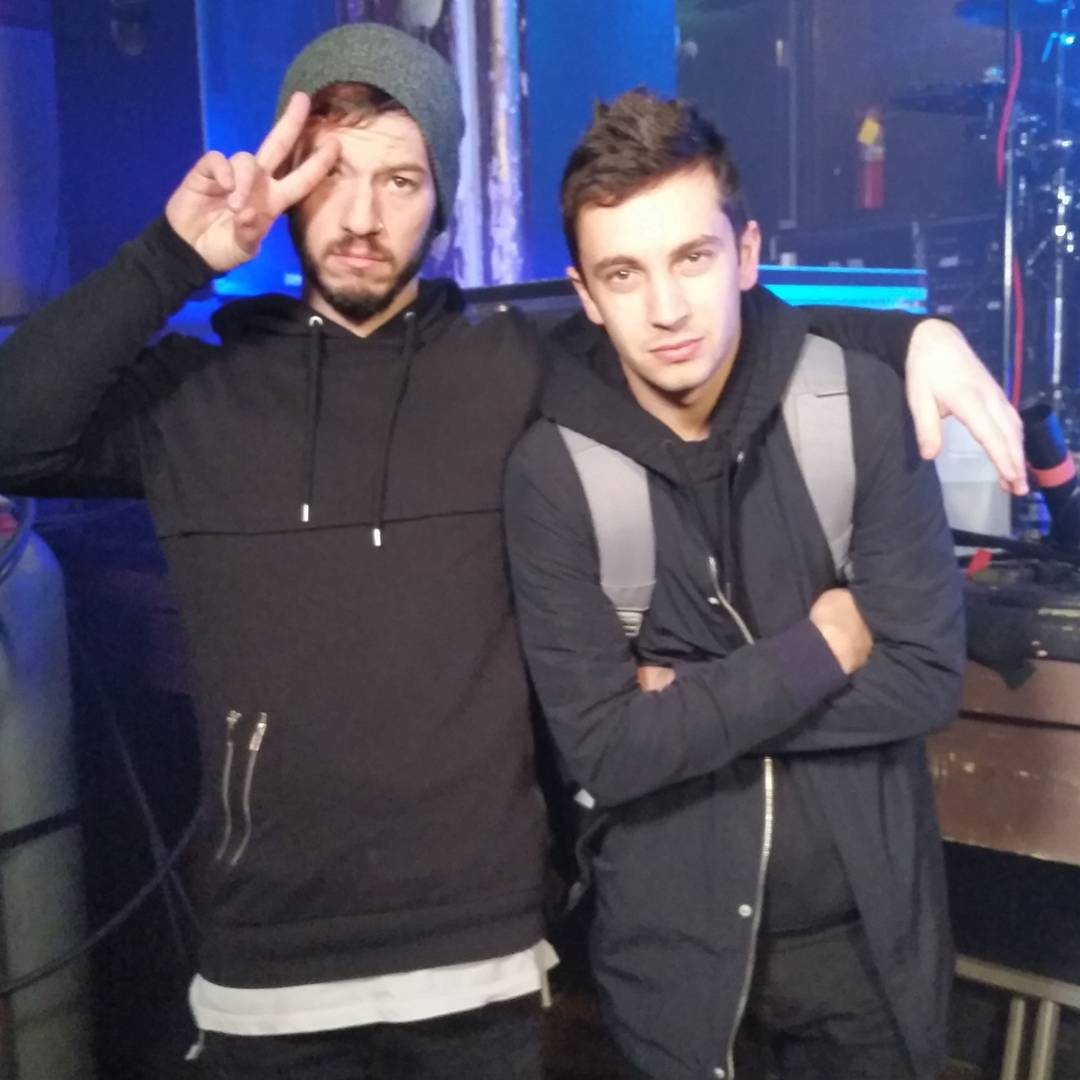 @TwentyOnePilots has øfficially arrived at histøric St. Andrews Hall!
