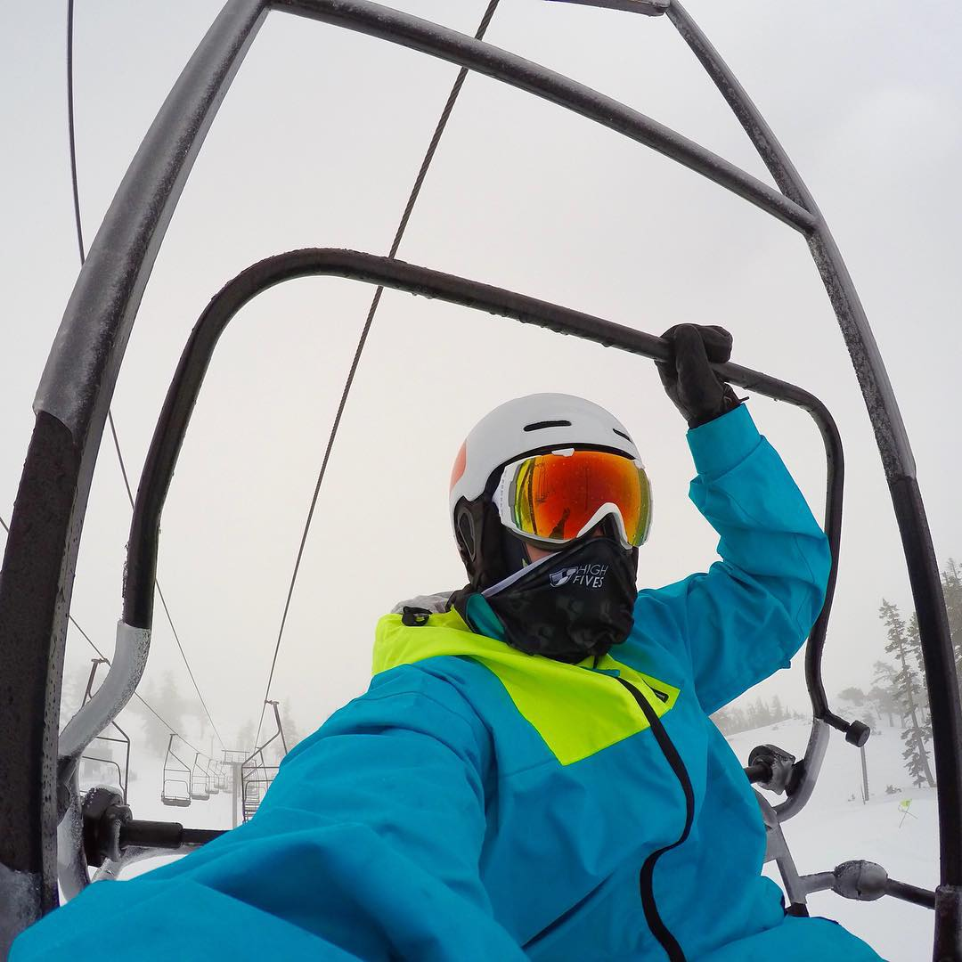 Safety first is safety always! @gopro #gopro @squawalpine #findyourzone #mysquawalpine #squawexperiment