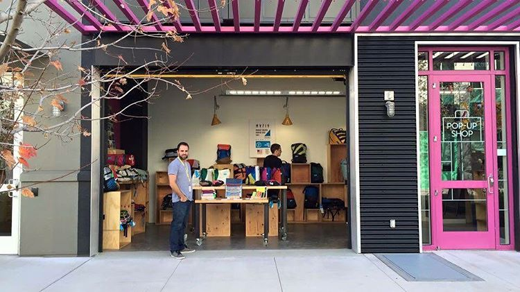 Our pop-up shop at @facebook - @instagram HQ is now open // This is the closest we are to be a tech company