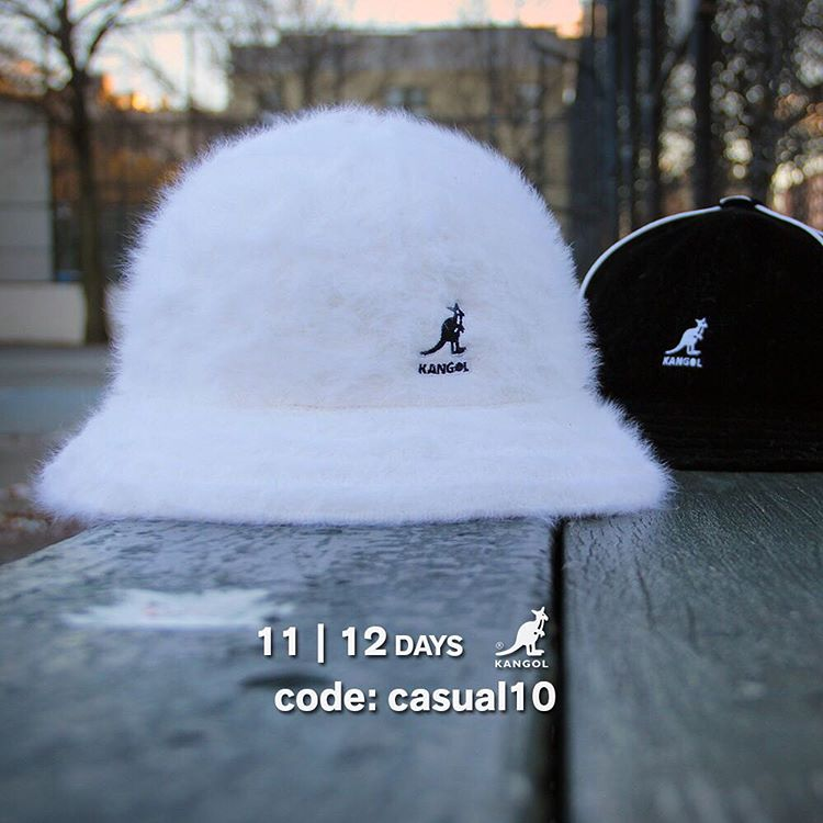 12 Days Of Giving | Day 11: Save 10% on classic #kangol Casual with the code: casual10 at kangolstore.com
