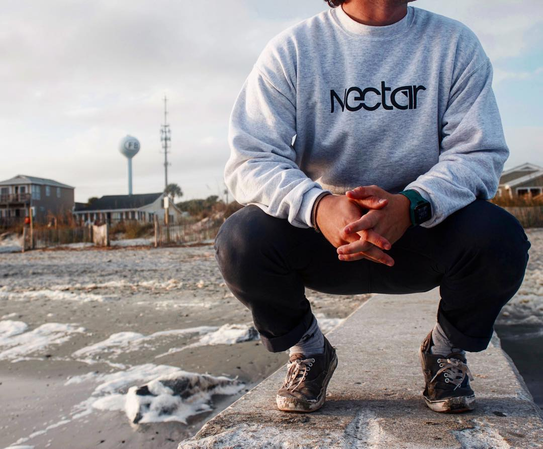 Just launched our newest line of crewneck sweatshirts and zipups || #truefreedom #nectarlife #thesweetlife