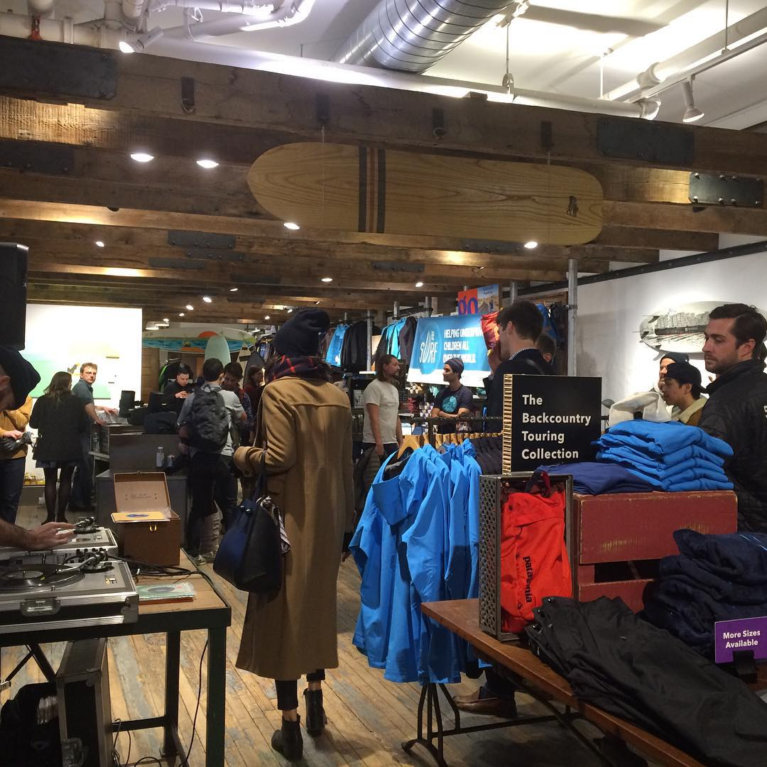 We had a sick time with you @patagoniabowery #patagonia ! Thanks to all who came out, #stoked for our next event January 27th, stay tuned! #surf #surfers #nyc #nysurfers