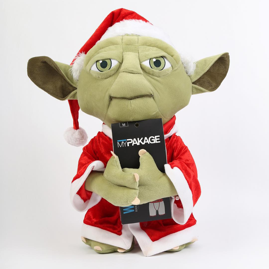 May the comfort be with you this holiday season! #StarWars #TheForceAwakens #InYourPants #MyPakage #Yoda