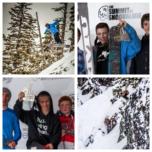 Congratulations to Flylow's Patterson boys for taking 1st place in the Boy's and Men's devisions at the Alpental IFSA comp'