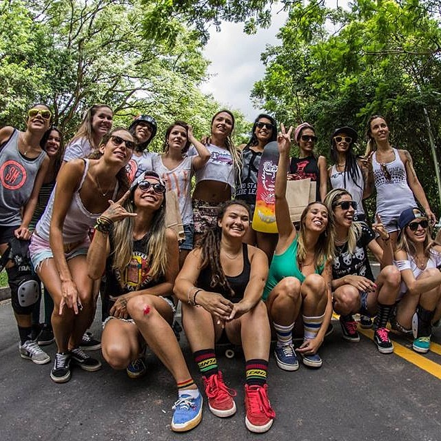 Go to www.longboardgirlscrew.com and check @deiaguandaline report on the 1st Ladeirada Femenina or Female DH event in #SaoPaulo, #Brazil. You need to see how hard Brazilian riders shred! In English & Portuguese #longboardgirlscrew #Brazilweloveyou