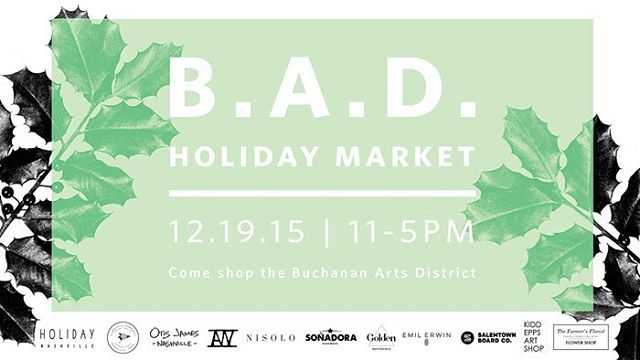 Tomorrow from 11-5 come see all the cool stuff happening on our street. Most of us have some pretty incredible deals goin all day. @nisoloshoes @nisoloshowroom @emilerwin @kiddeppsartshop @holidaynashville @aw.studio @goldenapothecary...