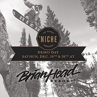 Don't have any weekend plans? Head over to @brianheadresort for our weekend-long demo fest!!