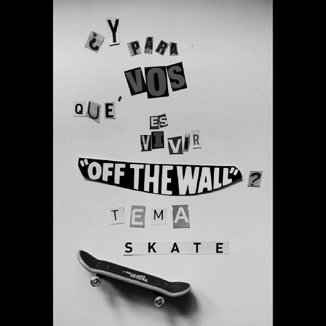 """Mañana arrancamos con el #concurso #Livingoffthewall!  Participá filmando un video en Vine o Instagram que transmita lo que para vos significa vivir """"Off the Wall"""". La temática de esta semana es #skate.  Para participar tenes que Twittear el link del..."""