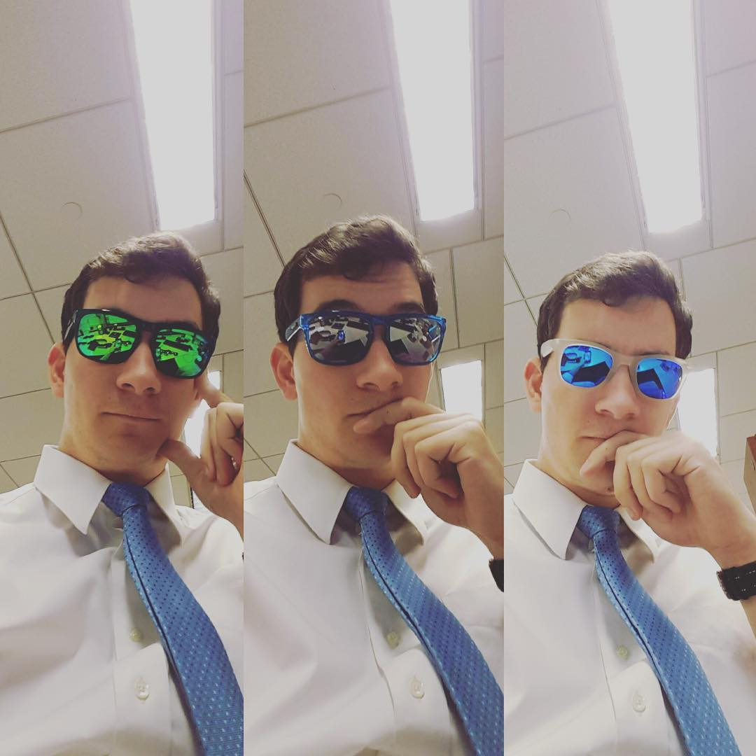 The weekend is almost here. #science proves that wearing #waveborn #sunglasses makes the work day go faster #timetravel #happy #holidays