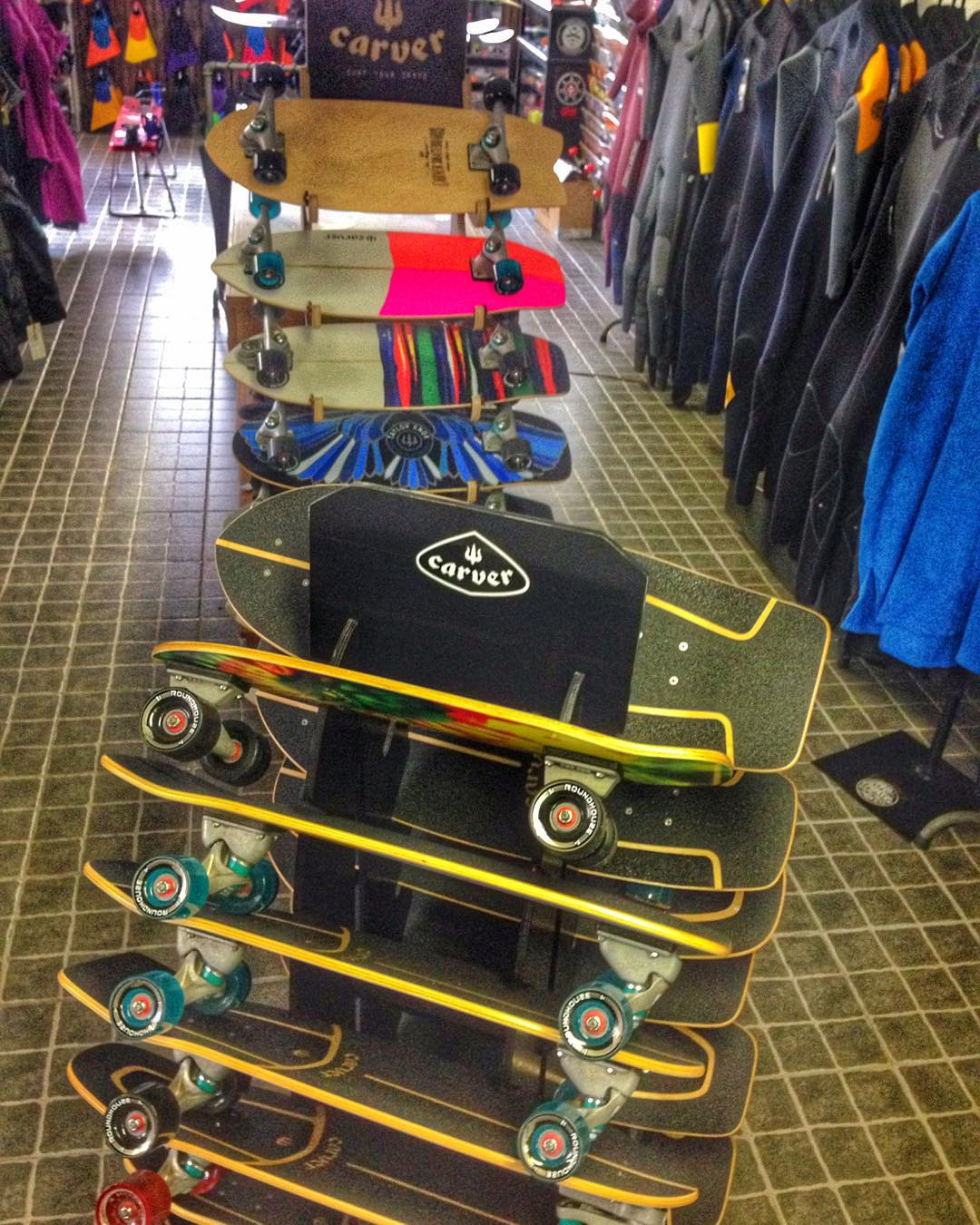 All models available for The holidays @waimeasurfandculture #carver #skateboards
