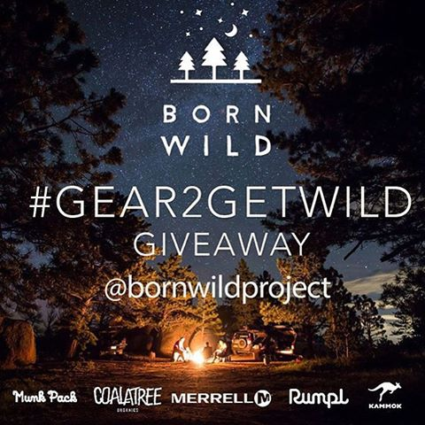 We're stoked for our friends at @bornwildproject for successfully funding their Kickstarter project! We put $1,000 towards the effort and are so proud to be a part of it! To celebrate their successful campaign, they've put together the #Gear2GetWild...