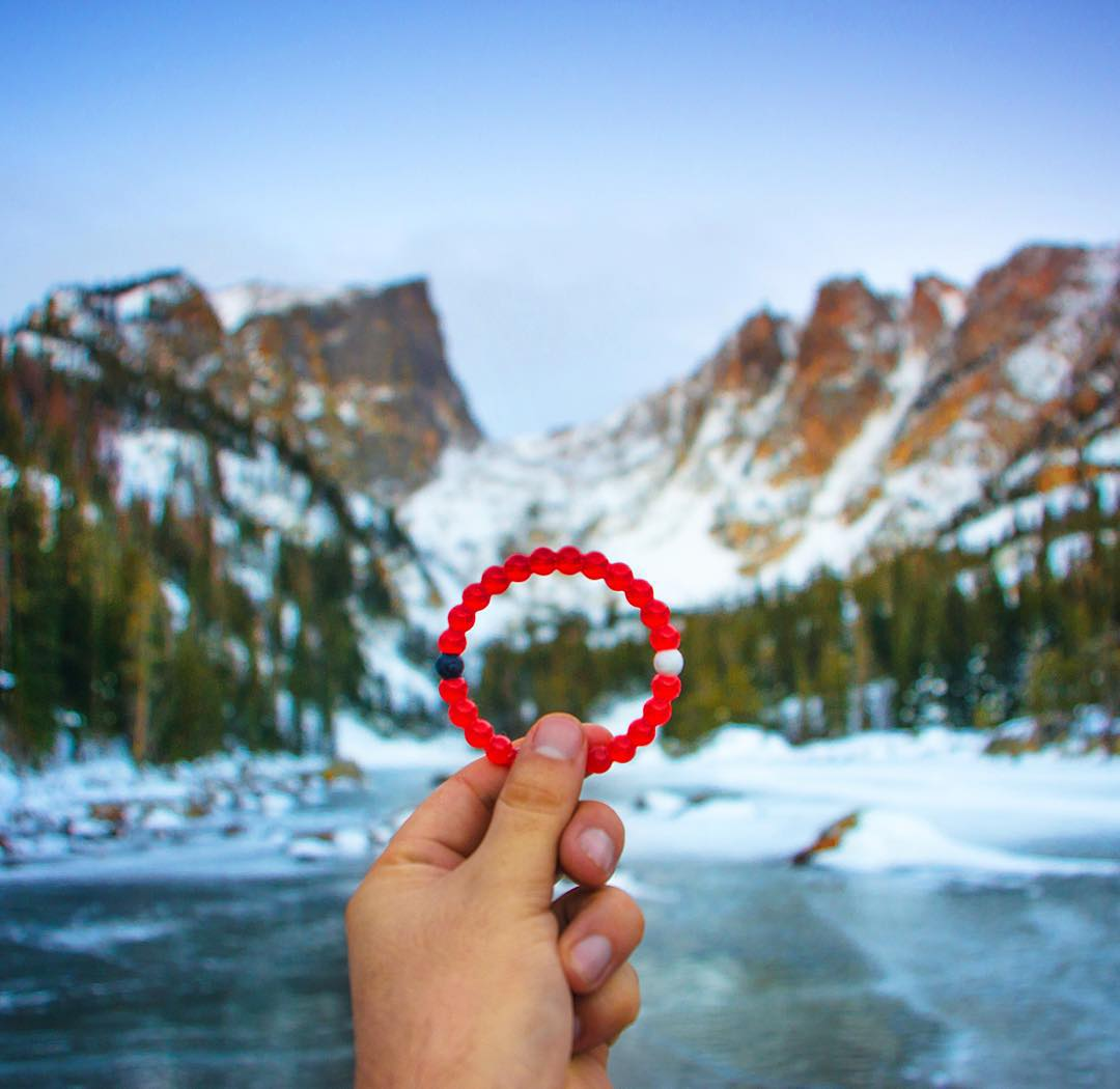 (Snow) capping off the week with this view #livelokai  Thanks @davie8thebaby
