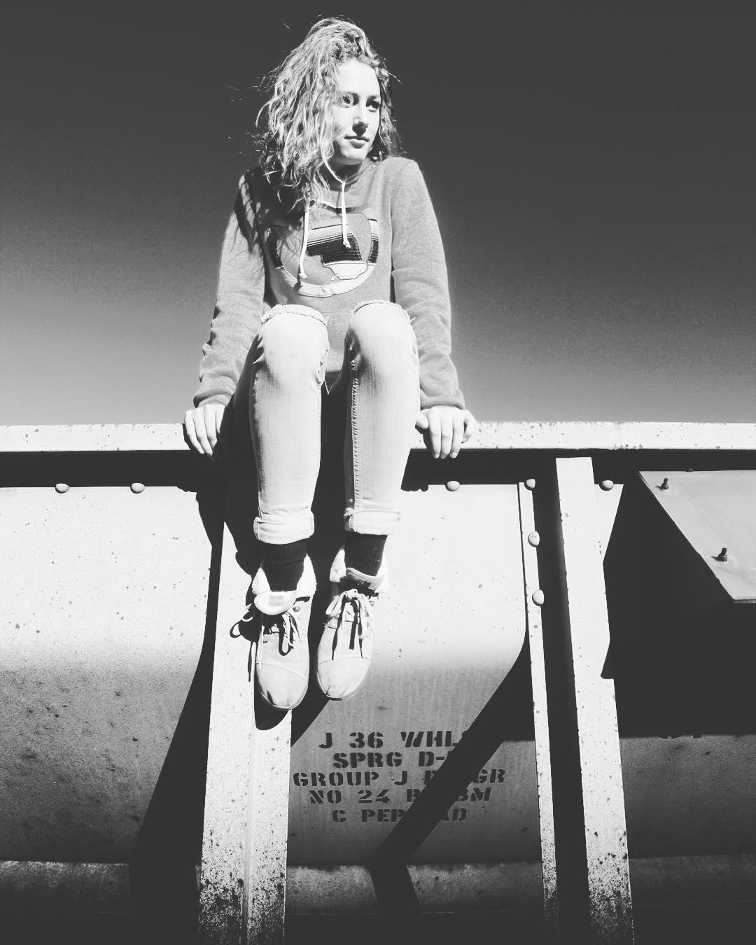 That hair, @kellalti. P: @demetrisavas  _ #tahoemade #thisistahoe