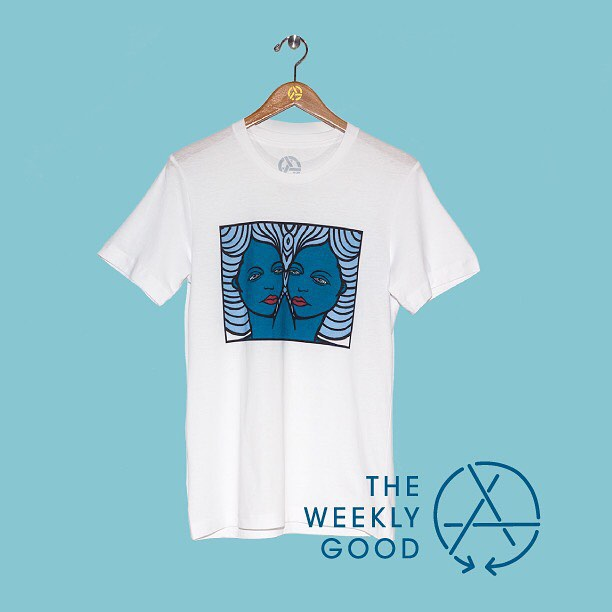 Burrowed deep in the holidays vibes, The Weekly Good shines like the star a'top the family tree.  The Jamie Lynn Another Girl tee looks good, feels good and just so happens to be The Weekly Good.  Go here to get down on it....
