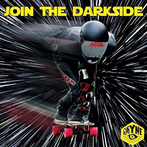 Join the Darkside. @claytonarthurs hit the hyper drive and got light speed on his.