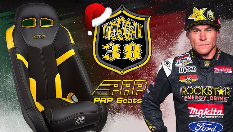 Happy holidays from @prpseats and I! Don't forget to check them out for some great products including my signature series #deegan38 #prpseats