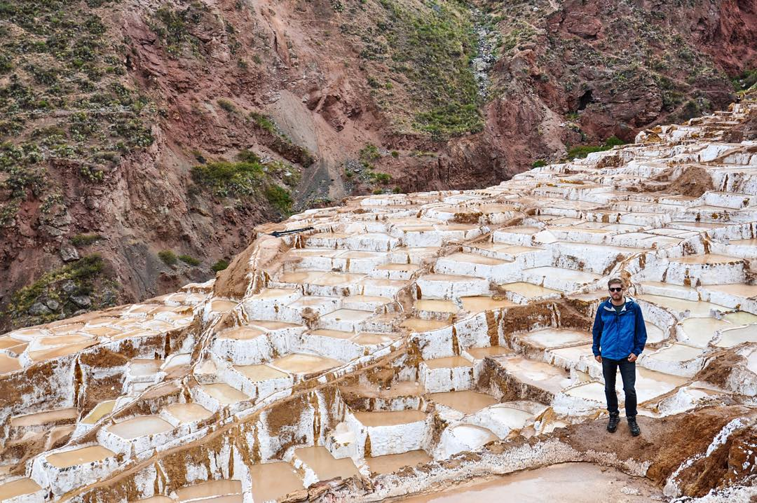 SOLO spotting in the Maras Salt Mines in Peru on Creative Ambassador @jack_porter_  Final sale of the year: 20% off + free expedited shipping. Use code: HolidayHustle  PC