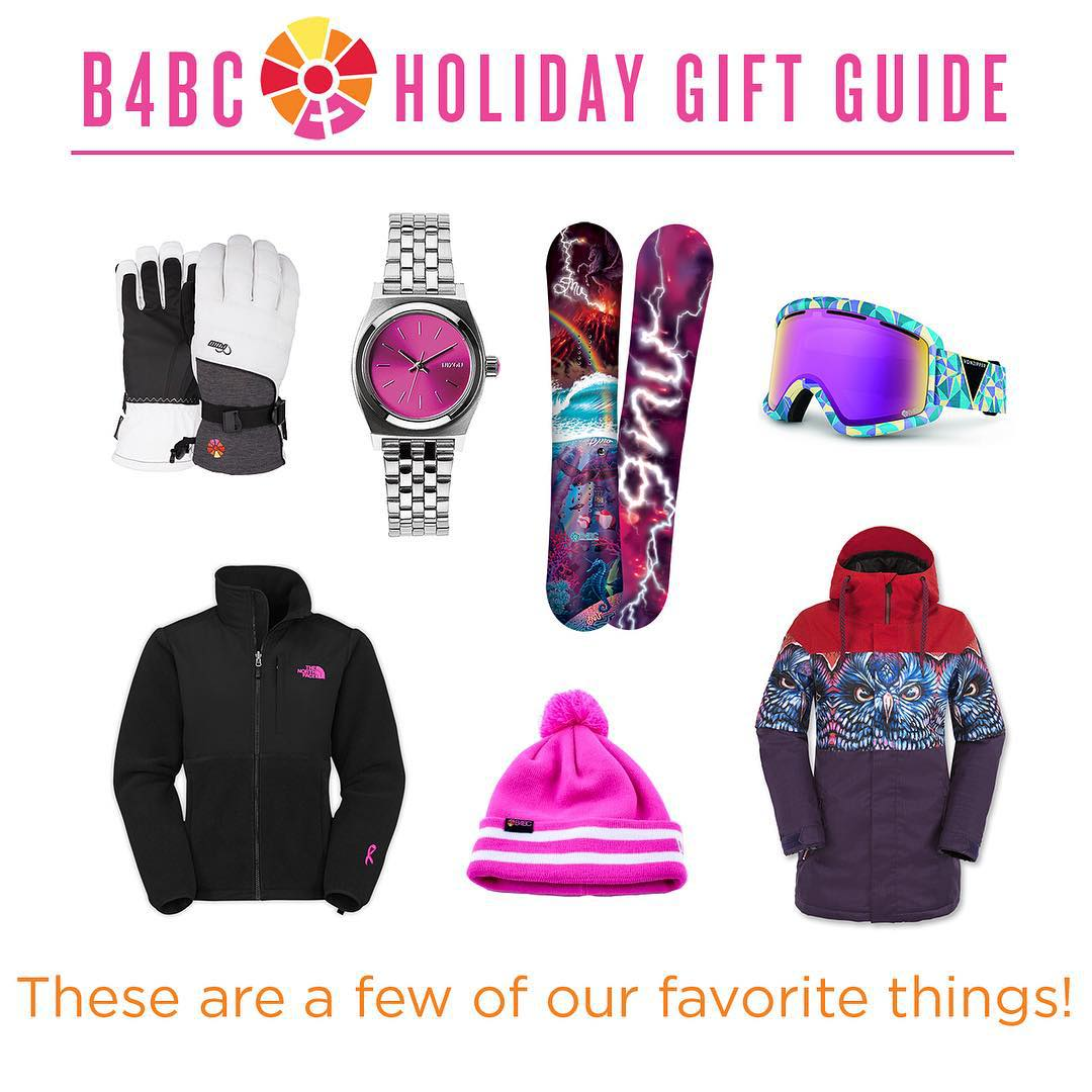 This year you can snag great gifts & give back to B4BC at the same time! Support those who support B4BC by shopping a whole new crop of cobranded gear in every price range with proceeds benefitting B4BC from our friends at @thenorthface, @vonzipper,...