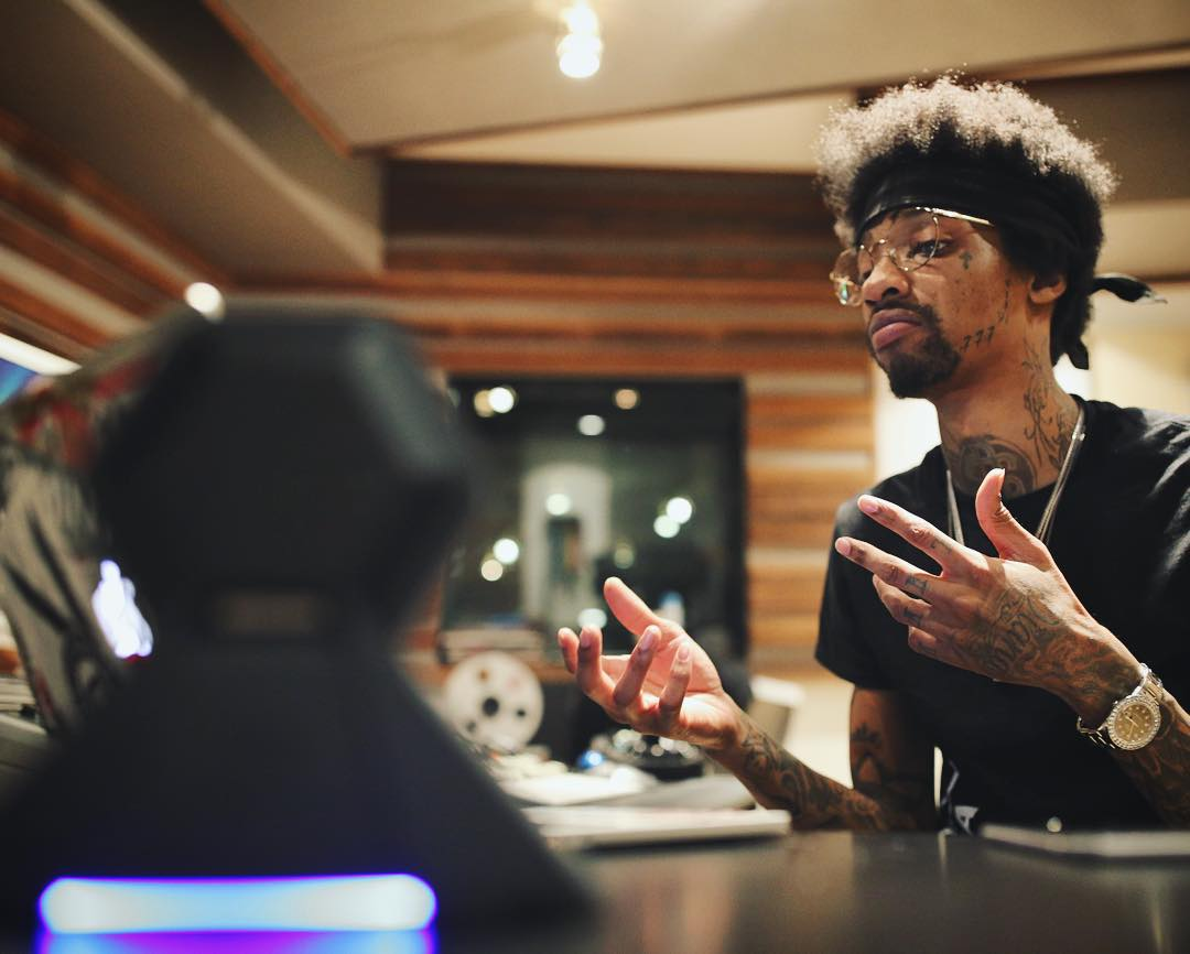 We're cookin up in the studio with @SonnyDigital