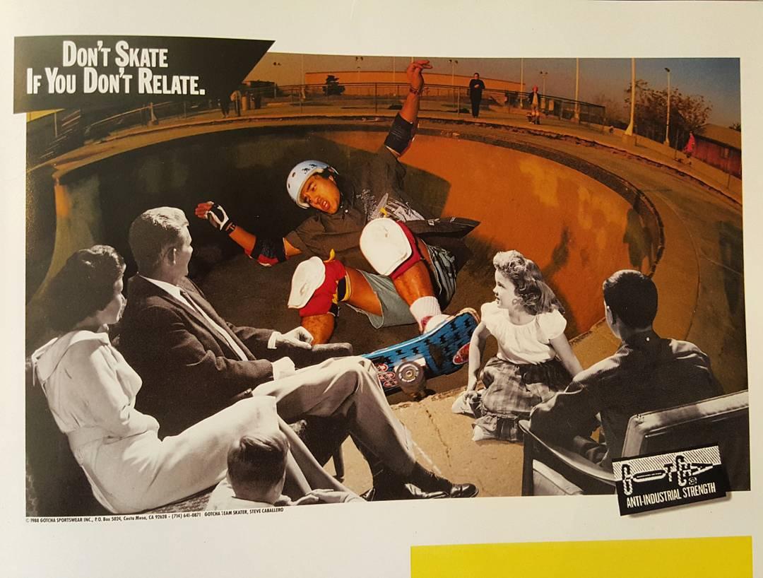Gotcha #skateboarding 1988 @steviecab #skateofmind