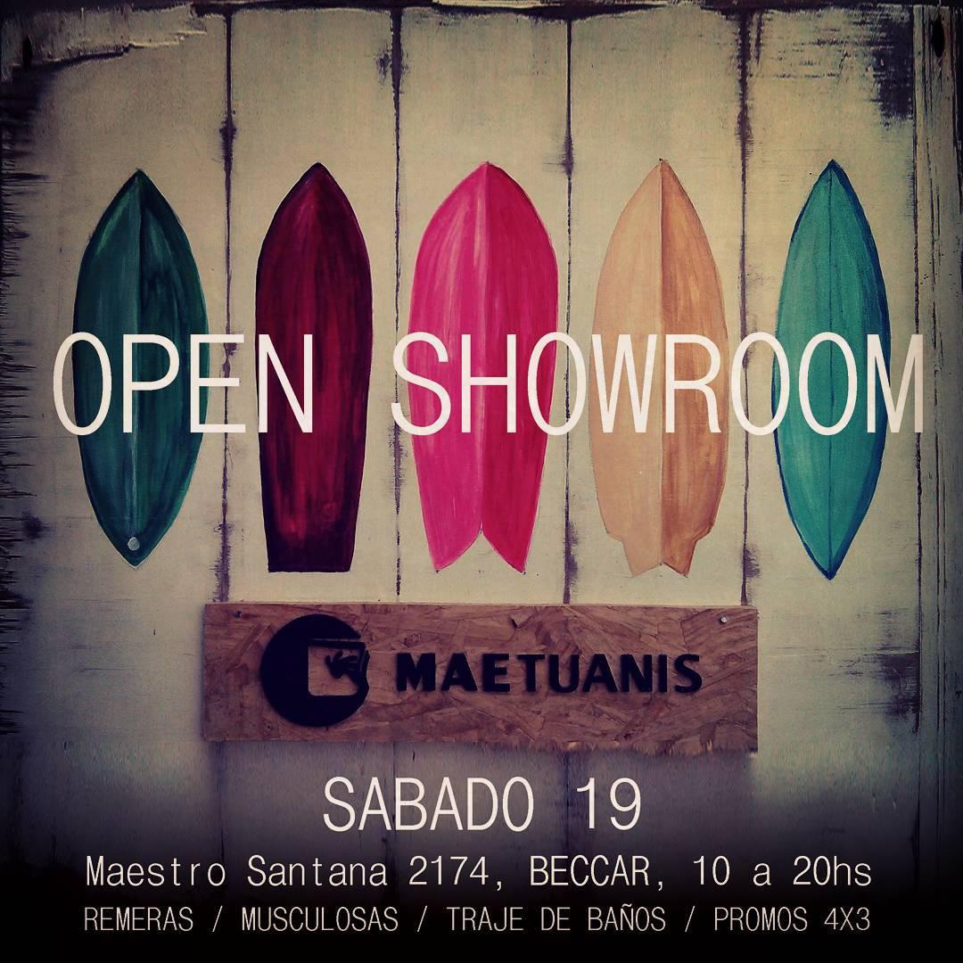 OPEN SHOWROOM!  Jornada especial Navidad! Abierto de 10 a 20hs. Maestro Santana 2174, Beccar. #maetuanis #followthesun #surf #surfing #openshowroom