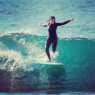 #akelasurf Portugal Ambassador @kat.barrigao  Photo José Barrigão #ladyslider #surf #surfswimwear #activegirl