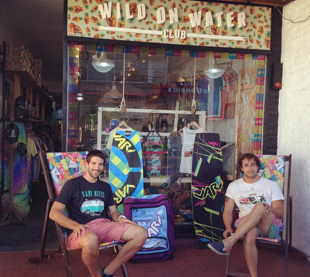 Thanks @wildonwaterclub for your trust! Welcome to the family! @geroklein @ferdecires #shop #apparel #wowclub #varikites #kite #kitesurfing #kiteboarding #kiteshop #variapparel #clothes