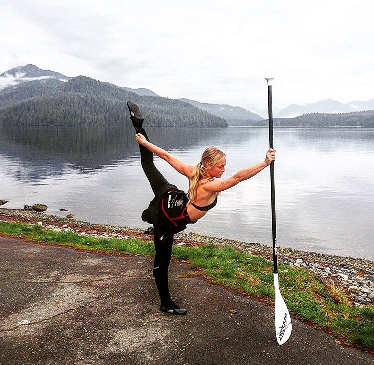 Find your balance. #roguesup #sup #paddle #yoga
