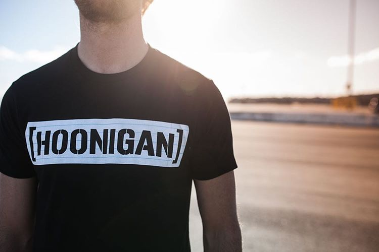 The all-new Wide Rule tee is on #hooniganDOTcom and remember, FREE SHIPPING WORLDWIDE!
