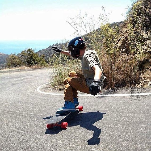 "Flow team rider @_sam_bfc aka ""Big Smooth"" lays some #thane and rocks it sideways on a SoCal classic."