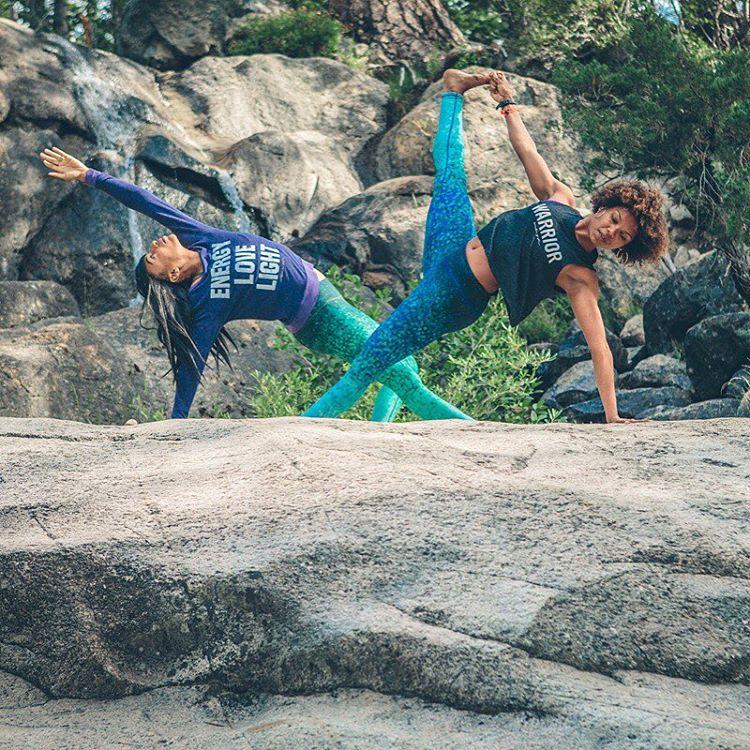 YOU ARE A WARRIOR  #shineyourlight #yogaeverywhere #yogaleggings #OKIINO @ndnlifestylist & @missadesina captured by @penaphotography @spiritualgangster