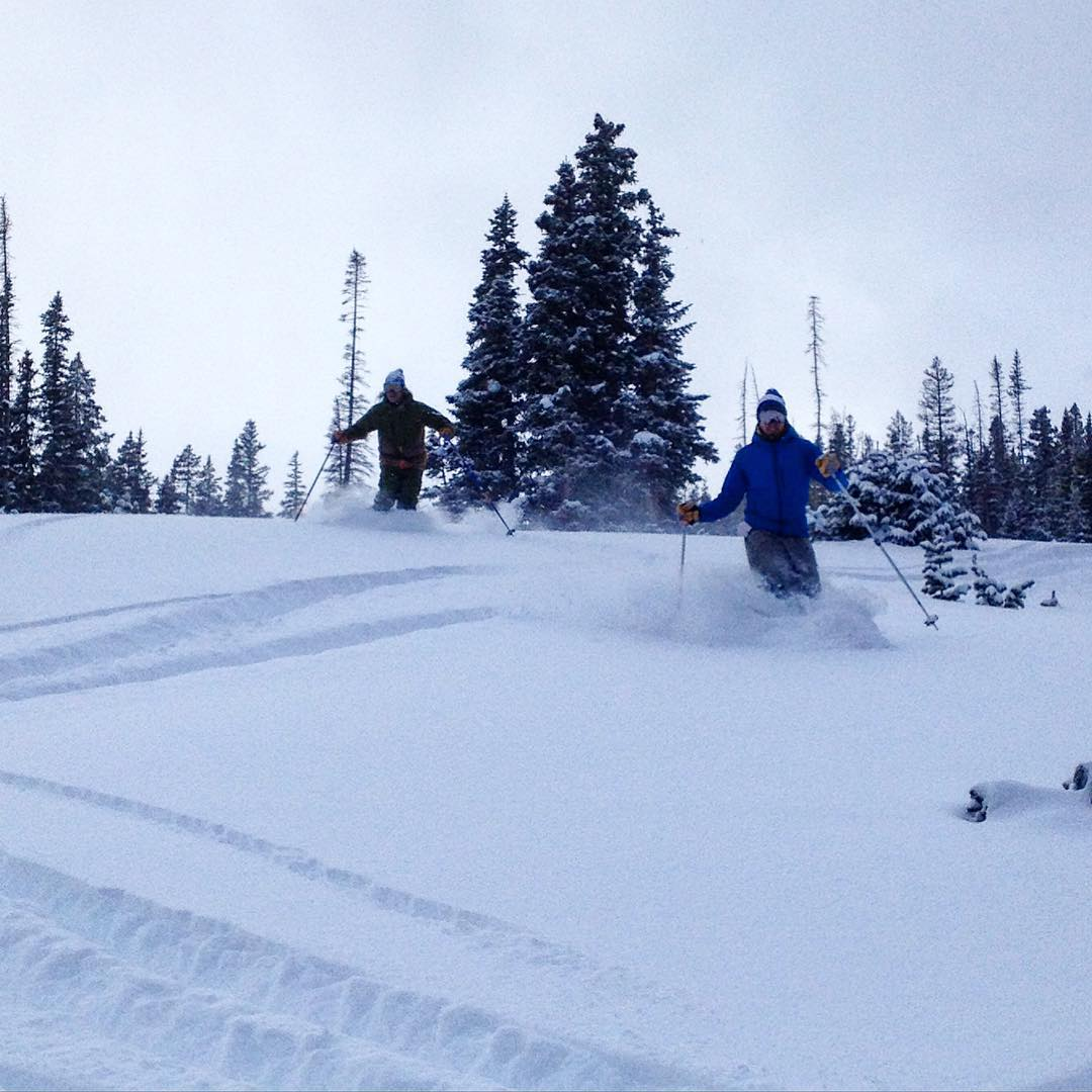 Vail at its finest. #hippypow #backcountry
