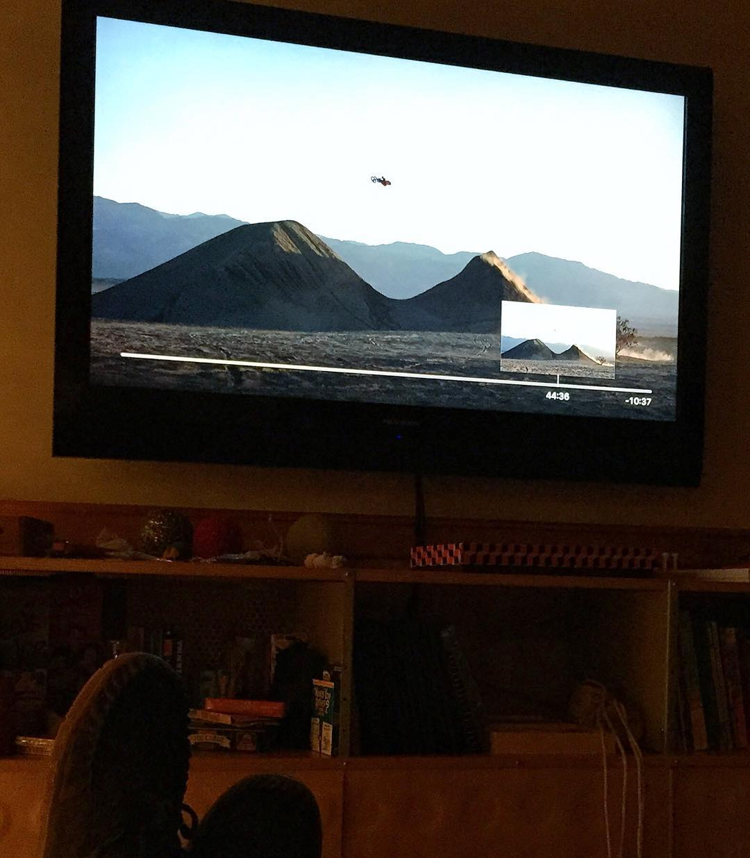 Yo, @rendawgfmx! I finally bought #Moto7 on iTunes and watched it with my kids last night. We all thought your part was the best. Especially this REALLY dope double jump. Congrats on a ridiculous video part! #Rennerrules #motofamily #braaap