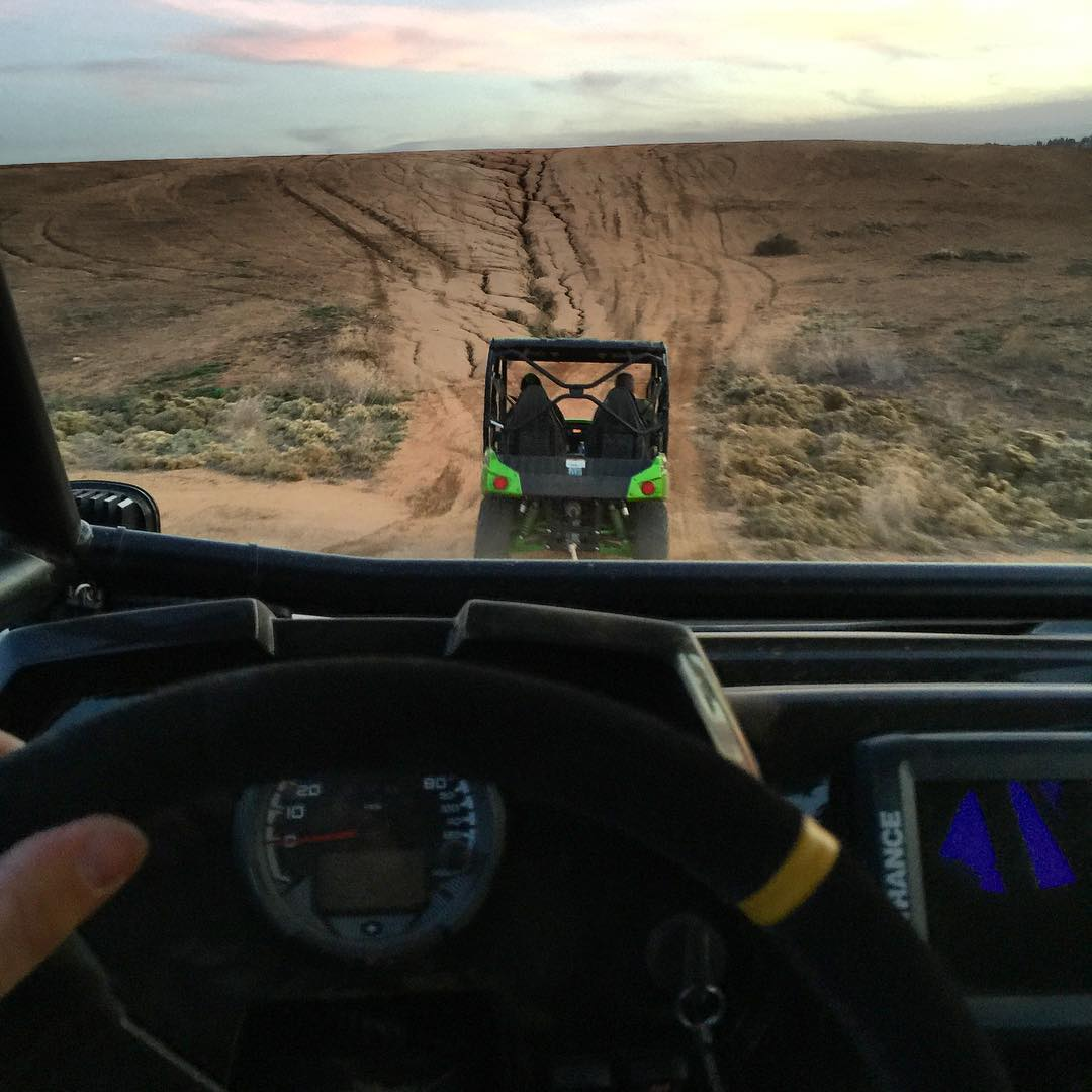 First world RZR problems!! Thanks @caseycurrie for the tow, I really need to upgrade the clutch/belt on this thing!! Good times @aaronquesada, thanks for letting us rip!! #beltsfordays