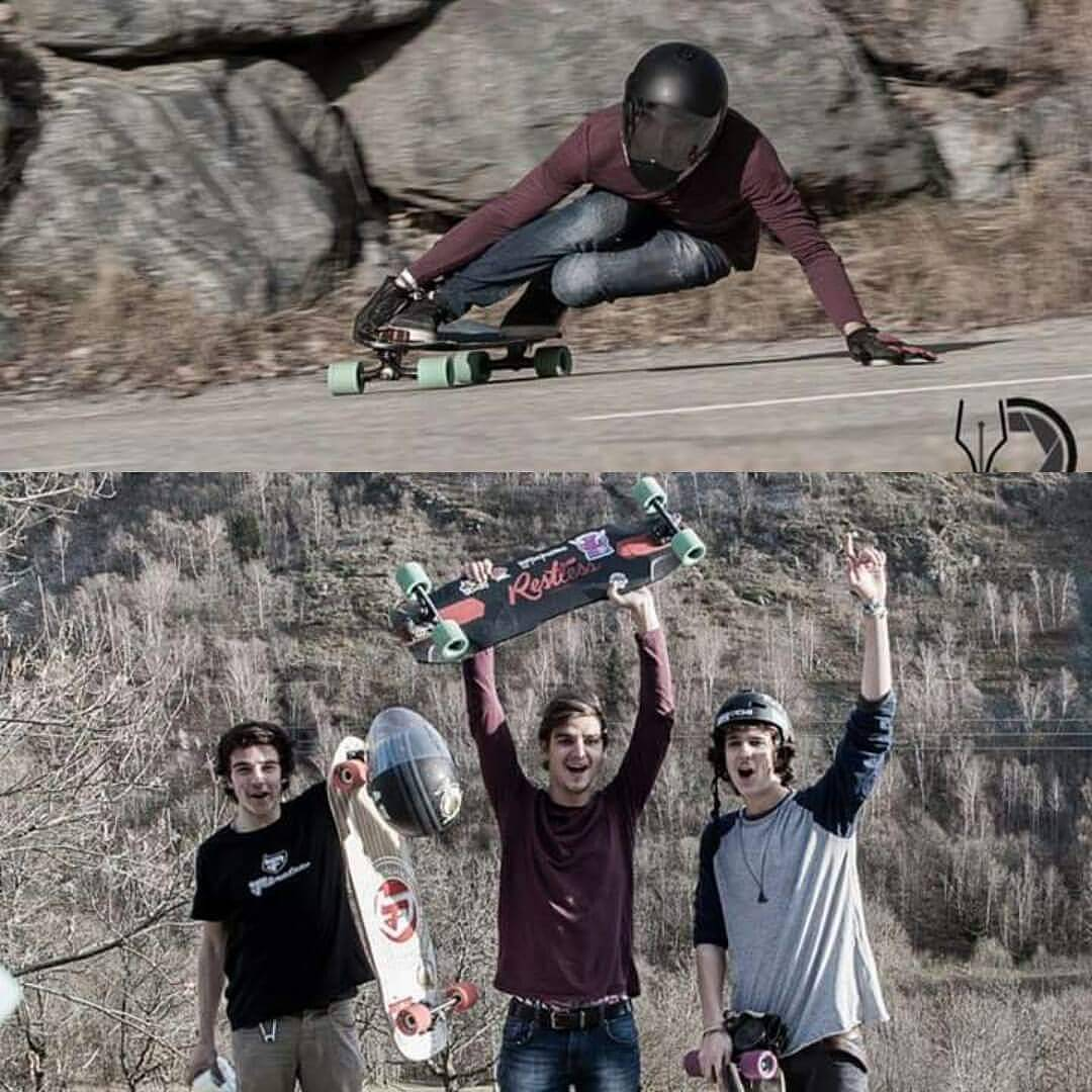 An other first place for @yanismarkarian at the Scream Challenge in Grenoble!  Congrats Yanis!  #restlessboards #restlessnkd