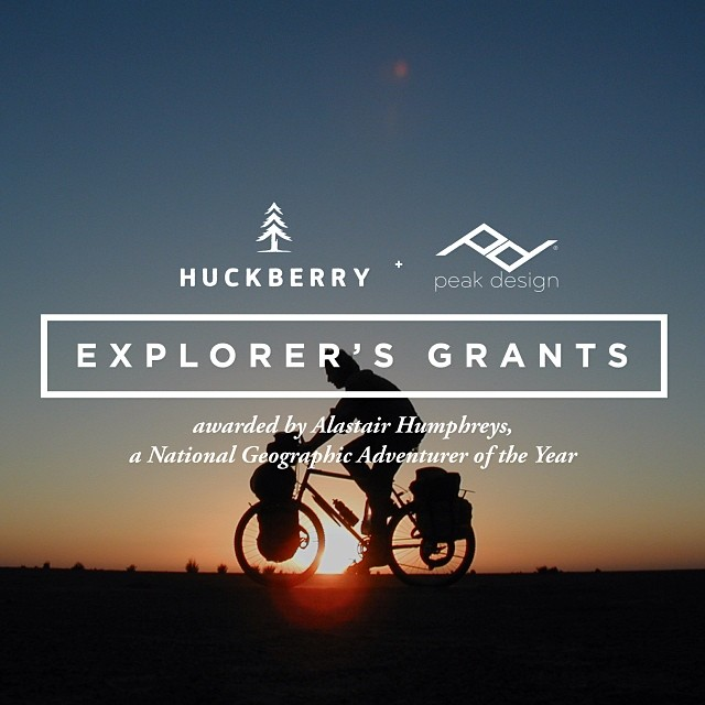 It's official. #peakdesign is now donating gear to the @huckberry Explorers Grants. Alongside @polerstuff, @goalzero and some other fantastic gear companies. Tell your story and get your next adventure sponsored by us!
