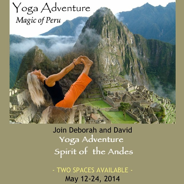 Two spaces left on my parents @yoga_adventure Peru in May!!! It's an incredible journey into an ancient culture that will change your life!!! They have been guiding mind blowing adventures to Peru for over 30 years and if I were you I wouldn't miss...
