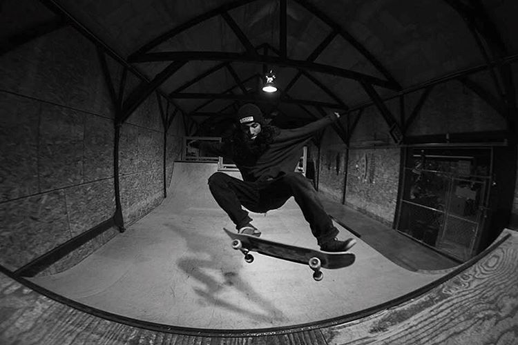 Eat, sleep, skate, repeat. @sho_ouellette knows the drill. Inside or outside, on a hill or in the park, he's always looking for something to ride.