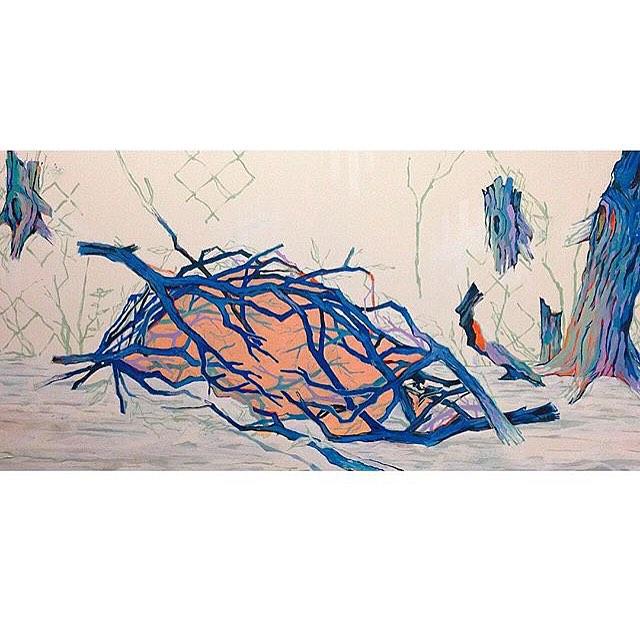 @crayonbloodstudio #jaimehernandez • • Nice meeting you yesterday Jaime • • #atx #austintx #texas #tx #spratx #art