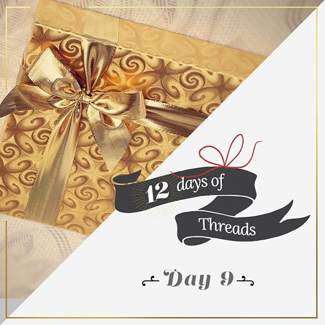 12 Days of Threads- Day 9⃣ - giveaway. #WIN any item on our site. The winner will be able to pick one item from our site as their prize!! Follow us on Instagram, repost this photo tagging @threads4thought @ #12daysofT4T for a chance to win! #prize...