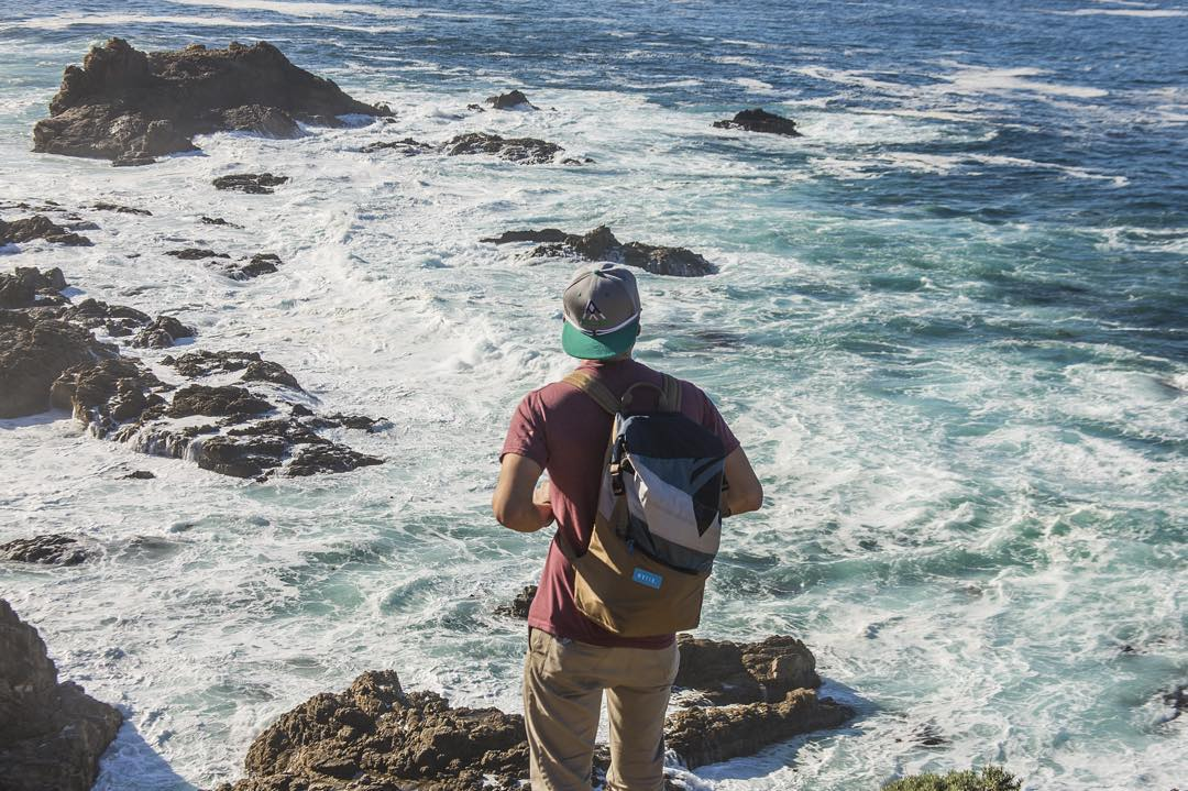 The new Tour pack in action checking out #Monterey CA // Where will you end up with your Mafia pack?  ph @greg_mares