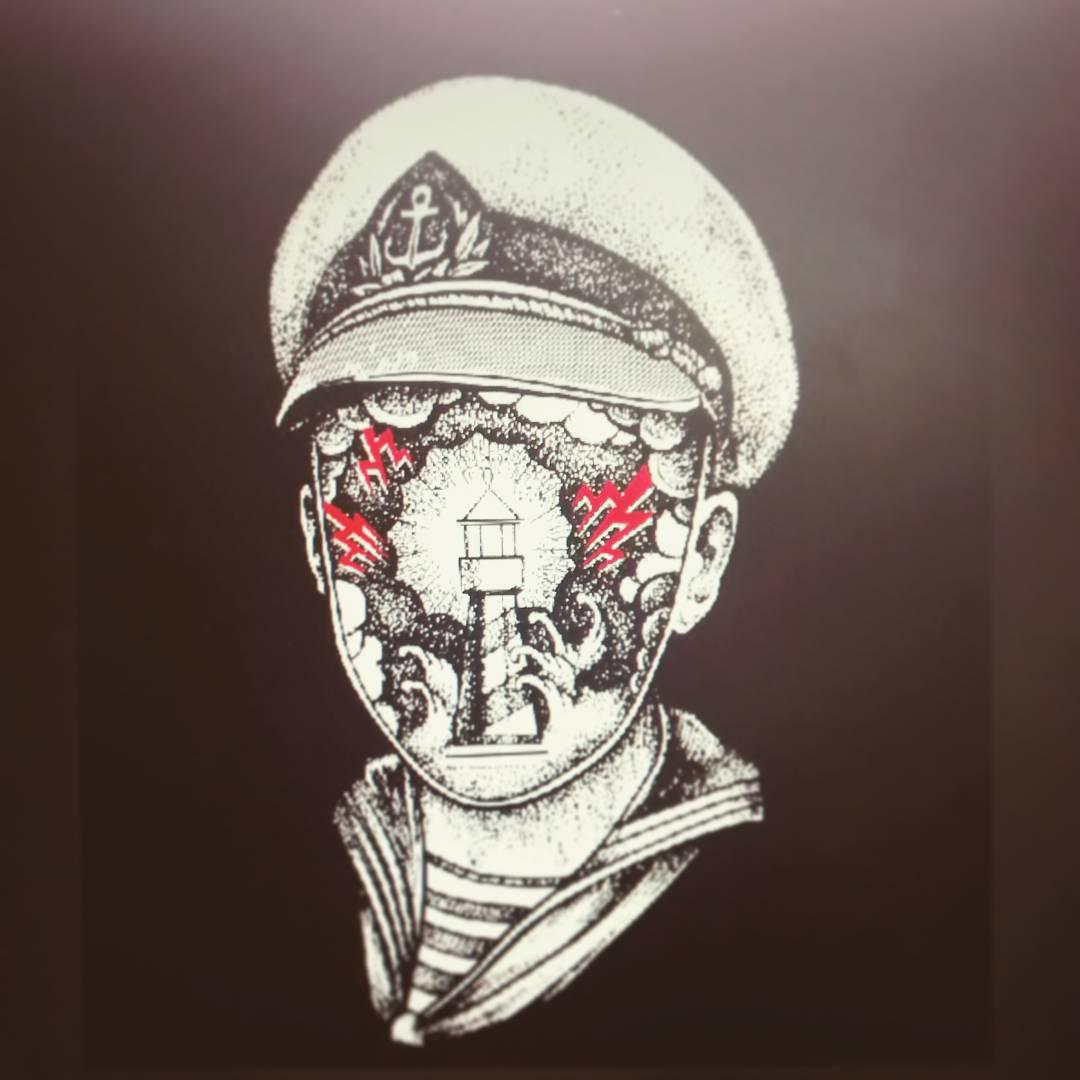 #miumtoys  #tshirts  #sailor  #silkscreen  #illustration  #lighthouse
