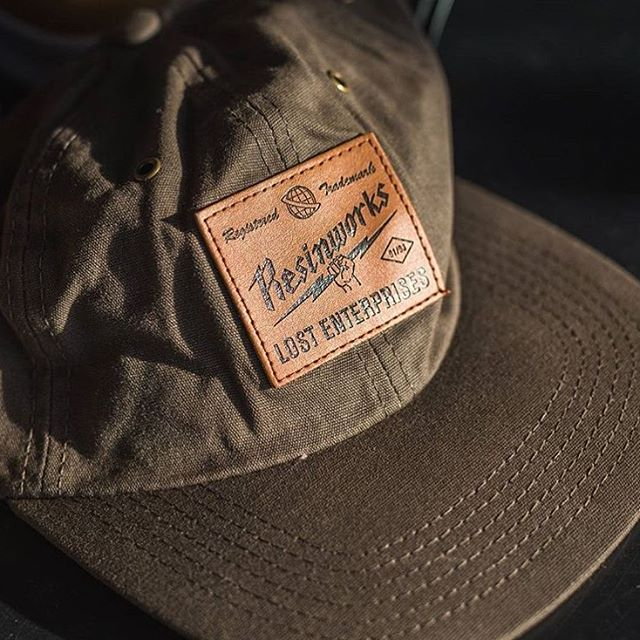 "...Lost ""ResinWaxed"" hat. #ResinWorks #lostclothing"
