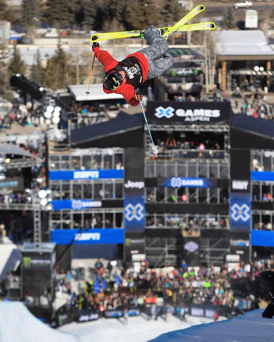 If you want the ultimate #XGames Aspen experience, check out our exclusive platinum pass!  Hit up XGames.com to floss out.