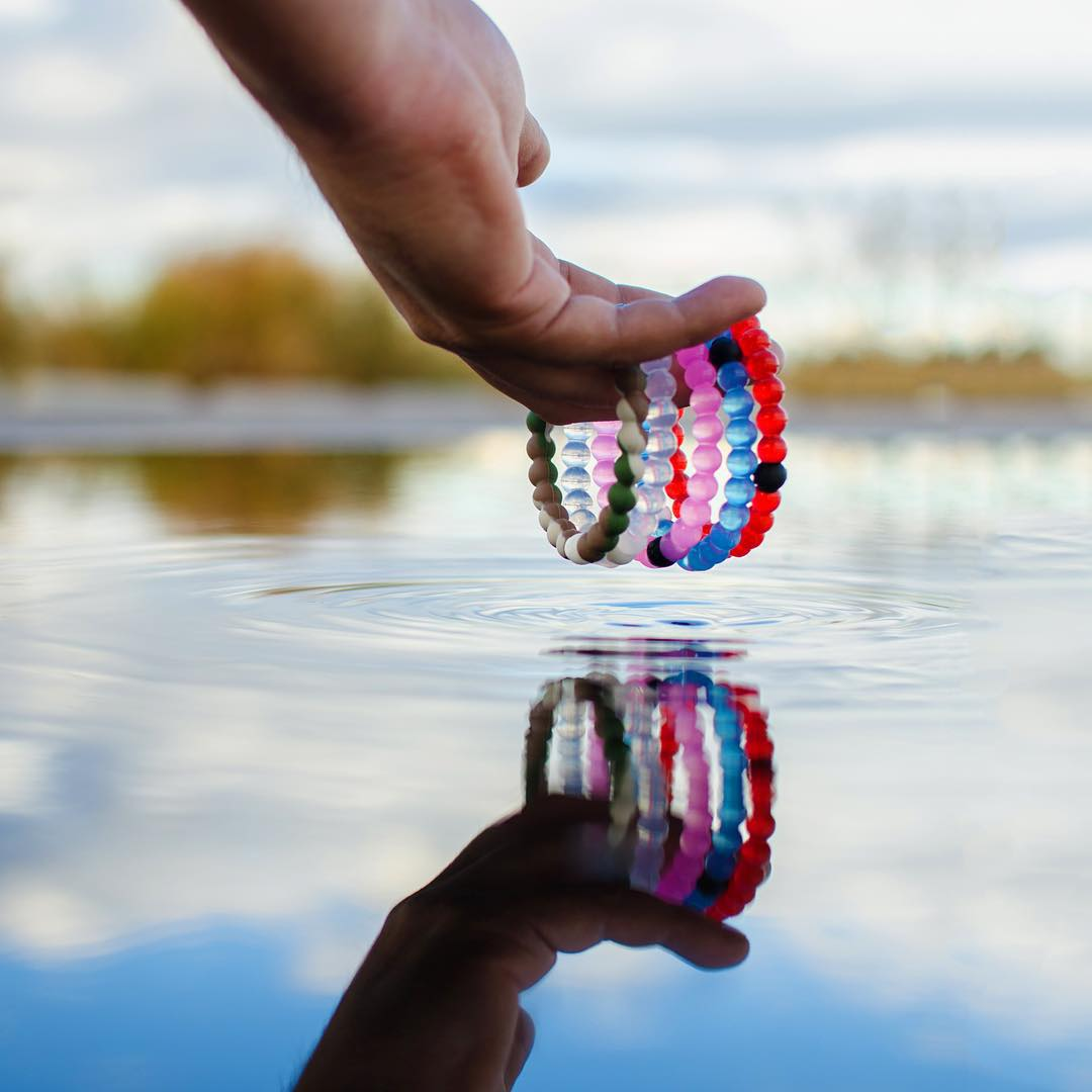 Create a ripple effect #livelokai Thanks @davie8thebaby