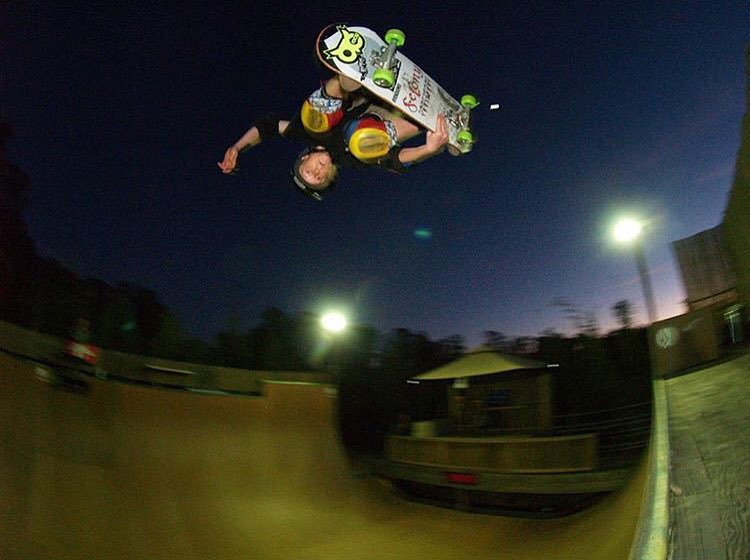 @jordieshorty123 boosting a big air the other night at @vert_jungle #predatorhelmets #SK8 #originalpredatordesign