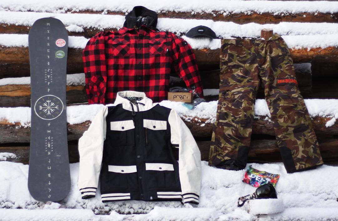 Don't miss your chance to get in on these goods from @nichesnowboards, @sagaouterwear, @deftoptics, @unhly_supply & yours truly. Find the sign up on our Facebook page - deadline to enter is December 31st at 11:59 (mst)