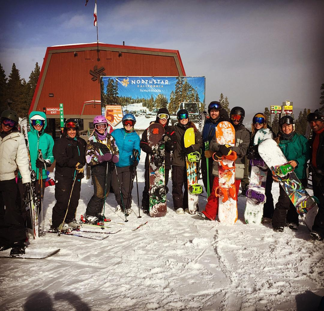 #killer on-hill Sherpa training at @skinorthstar! What an amazing season on the slopes it's shaping up to be
