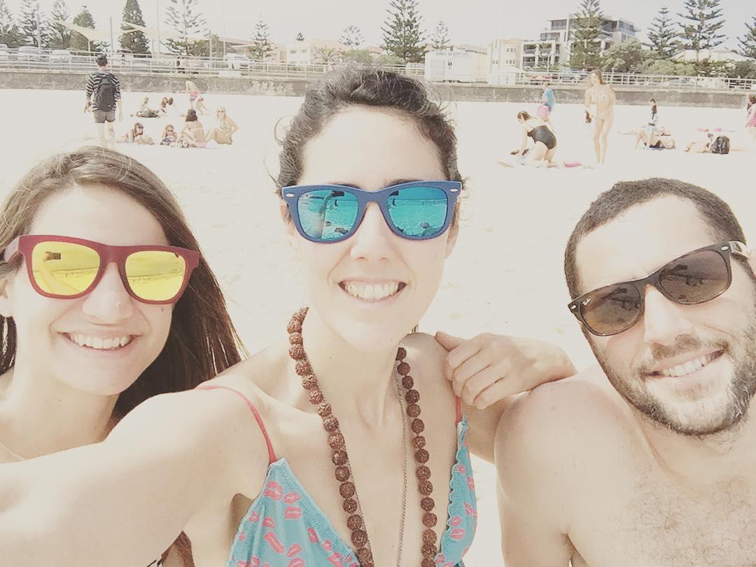 Iluminados, listos, YA! #beach #bondibeach #australia #sydney