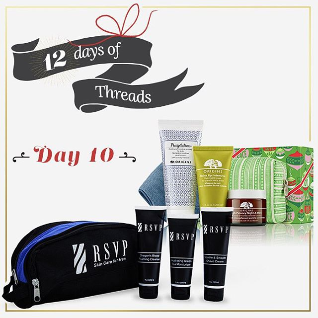 For the last three days, we decided to spread the love and do non-T4T products to showcase other products we love. Day 1⃣0⃣ - #WIN a skin care gift box filled with awesome products from @rsvpmen and @originsusa - we will have 2⃣ winners! Follow us on...